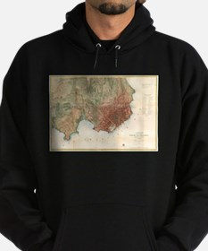 Vintage Map of San Francisco California Sweatshirt