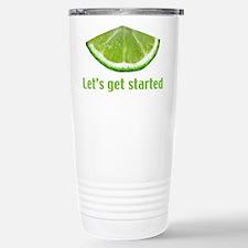 Let's get started Stainless Steel Travel Mug