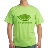 Lime wedge Green T-Shirt