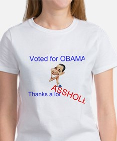 Did you vote for obama? thanks a lot asshole Women
