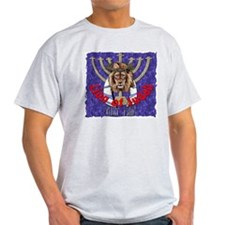 Lion of Judah 7 Ash Grey T-Shirt