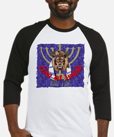 Lion of Judah 7 Baseball Jersey