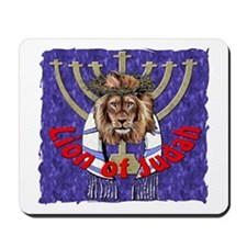 Lion of Judah 7 Mousepad