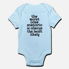 Worst Case Scenario Infant Bodysuit