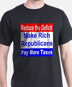 Reduce The Deficit T-Shirt