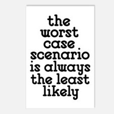 Worst Case Scenario Postcards (Package of 8)