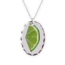 lime wedge Necklace