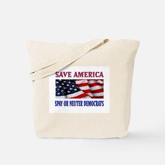 NO BREEDING Tote Bag