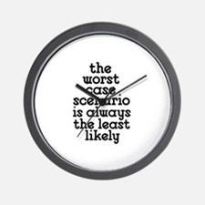 Worst Case Scenario Wall Clock