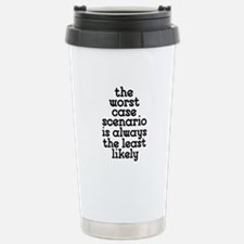 Worst Case Scenario Travel Mug