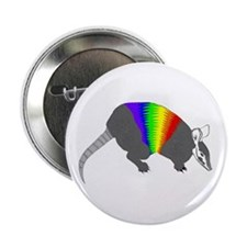 "Gay Armadillo - 2.25"" Button (10 pack)"