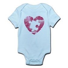 PIECE OF MY HEART Infant Bodysuit
