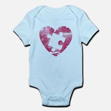 PIECE OF MY HEART Infant Bodysuit