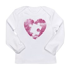 PIECE OF MY HEART Long Sleeve Infant T-Shirt