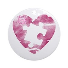 PIECE OF MY HEART Ornament (Round)