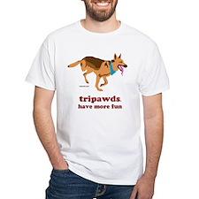 Tripawds Have More Fun White T-Shirt