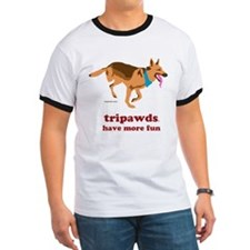 Tripawds Have More Fun Ringer T
