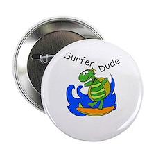 """Surfer Dude 2.25"""" Button"""