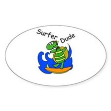 Surfer Dude Decal