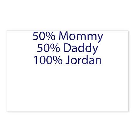 100% Jordan Postcards (Package of 8)