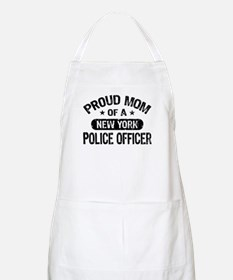 Proud Mom of a New York Police Officer Apron
