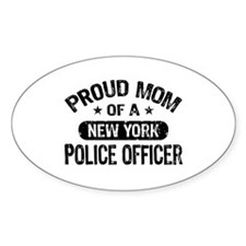 Proud Mom of a New York Police Officer Decal