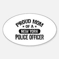 Proud Mom of a New York Police Officer Stickers