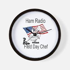 Field Day Chef Wall Clock