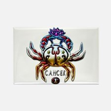 Cancer Crab Zodiac Art Rectangle Magnet
