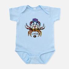 Cancer Crab Zodiac Art Infant Bodysuit