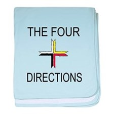 """""""The Four Directions"""" baby blanket"""