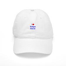 I Love Washington Democrats Baseball Baseball Cap