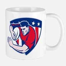 American rugby player Mug