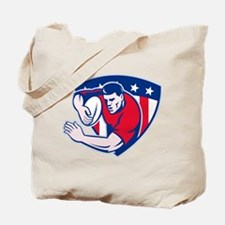 American rugby player Tote Bag