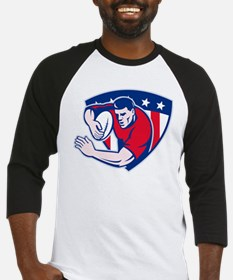 American rugby player Baseball Jersey