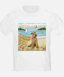 Rowboat & Lakeland T. Kids T-Shirt