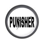 Punisher Law Enforcement Wall Clock
