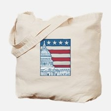 Unique Washington d c Tote Bag