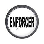 Enforcer Law Enforcement Wall Clock