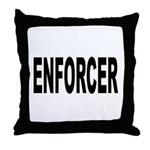 Enforcer Law Enforcement Throw Pillow