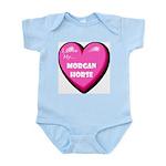 I Love My Morgan Horse Infant Creeper