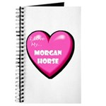 I Love My Morgan Horse Journal