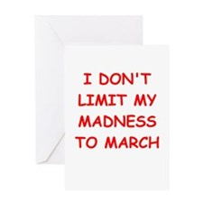 madness Greeting Card