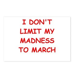 madness Postcards (Package of 8)