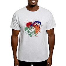 camiseta dibujo pintura