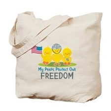 My Peeps Protect Our Freedom Tote Bag