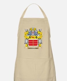 Woodward Family Crest - Coat of Arms Light Apron