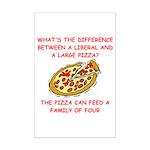 liberal joke Mini Poster Print