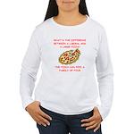 liberal joke Women's Long Sleeve T-Shirt