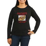 liberal joke Women's Long Sleeve Dark T-Shirt